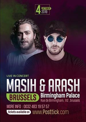 Masih & Arash live on stage - 04.10.2019 - Birmingham Palace - Brussels - Belgium