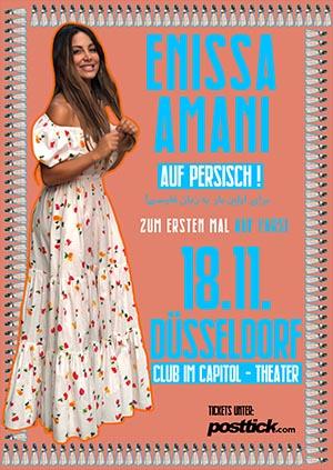 Enissa Amani live on stage (FARSI) - 18.11.2018 - Capitol Theater - Düsseldorf