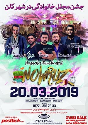 persisches Familienfest - Nowruz - 20.03.2019 - Event Palast - Hürth/Köln