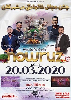 persisches Familienfest - Nowruz - 20.03.2020 - Event Palast - Hürth/Köln