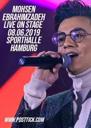 Mohsen Ebrahimzadeh live on stage - 08.06.2019 - Sporthalle Hamburg