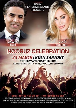 Omid & Shohreh live on stage (Nowruz Concert) - 23.03.2019 - Sartory Saal - Köln
