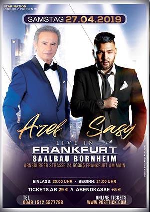 Aref & Sasy live on stage - 27.04.2019 - Saalbau Bornheim - Frankfurt
