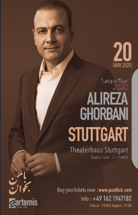 Alireza Ghorbani live on stage - 20.05.2020 - Theaterhaus - Stuttgart